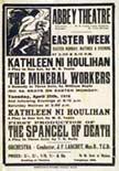Abbey Theatre poster